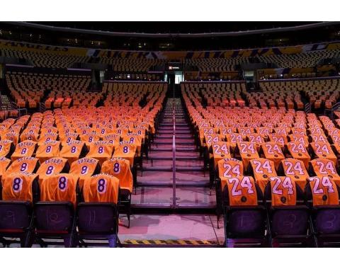 At Staples Center, the House that Kobe Built, LeBron James pays tribute to Lakers legend